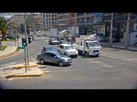 Se registran más de mil robos de autos en Chile en tan sólo 17 días