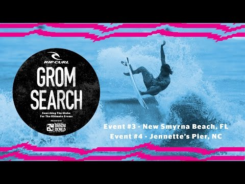 2016 Rip Curl GromSearch presented by Banzai Bowls | Events #3 and #4