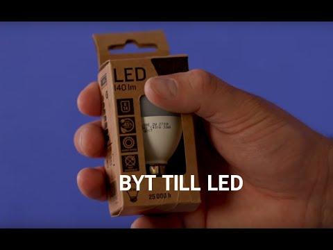 Byt till LED-lampor - HSB Hemmatips
