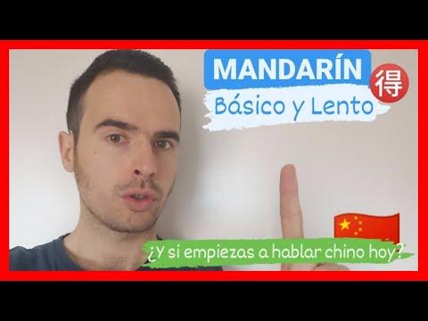 ✅ CHINO para PRINCIPIANTES   🙌 MONOLOGO CON VOCABULARIO BASICO CHINO NIVEL (HSK1-HSK2) 🚀
