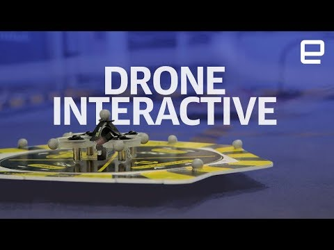 Drone Interactive hands-on at CES 2018 - UC-6OW5aJYBFM33zXQlBKPNA