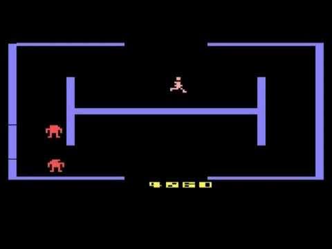 BERZERK (Atari 2600) - Review de RETROJuegos por Fabio Didone
