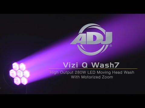 American DJ Vizi Q Wash7 High-powered Moving Head Wash fixture