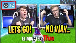 Crowd ERUPTS Spectating Mongraal DESTROYING Pros! (Fortnite World Cup Solo Finals - Game 4)