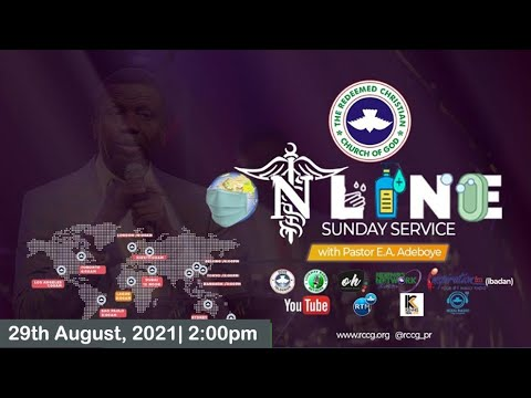 RCCG AUGUST 29th 2021  PASTOR E.A ADEBOYE SPECIAL SERVICE