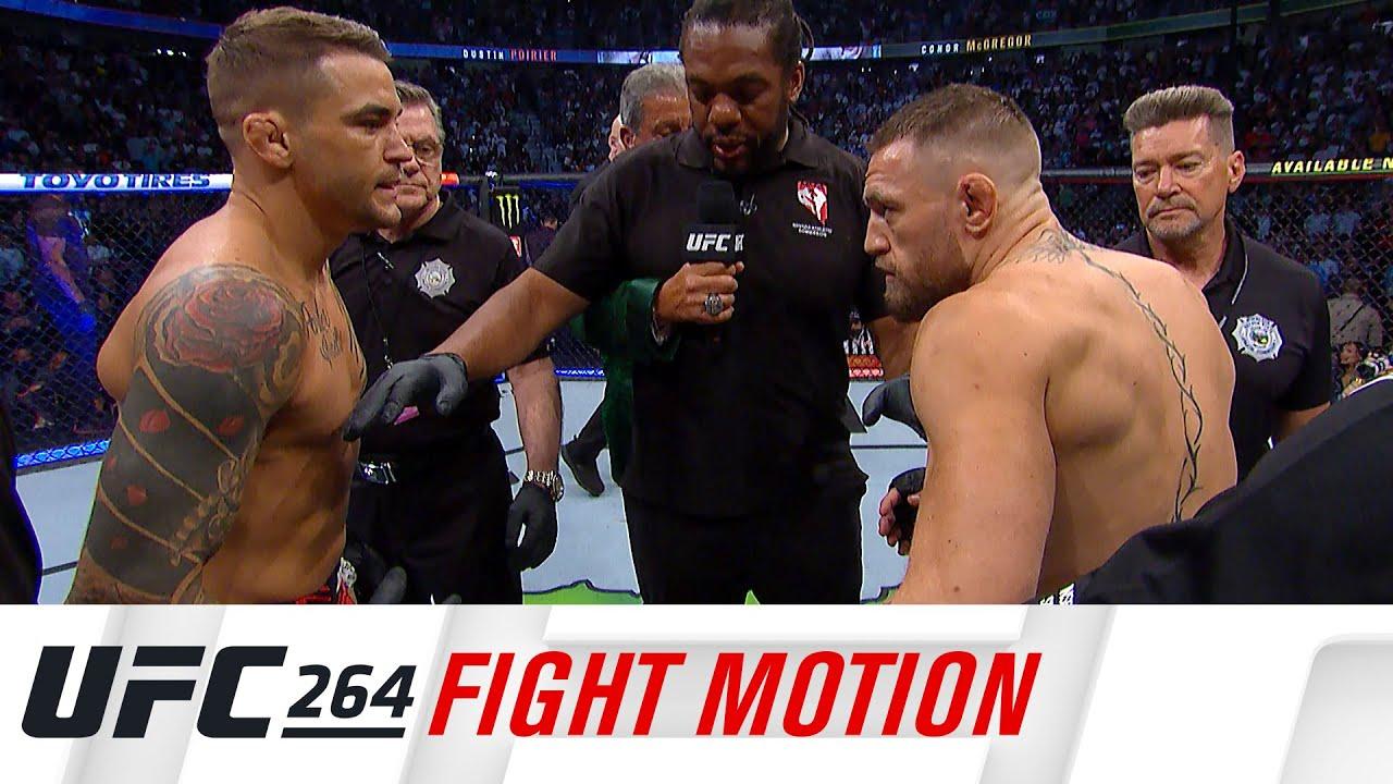 UFC 264: Fight Motion