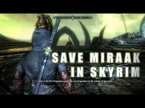 Save Miraak - Fight Herma-Mora (Dragonborn DLC Alternate Ending) - default