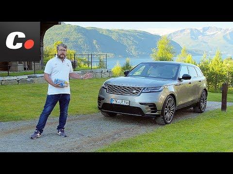 Range Rover Velar 2017 SUV | Primera prueba / Test / Review en español | Contacto | Coches.net