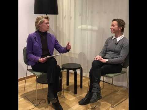Vd intervjuar Karin Edmark