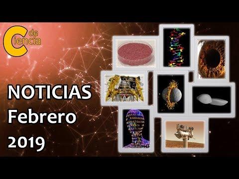 Noticias científicas febrero 2019