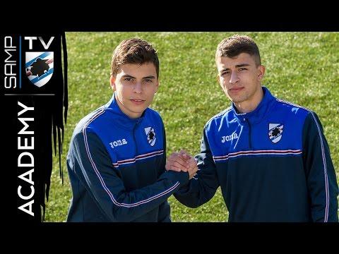 Academy, i fratelli Doda: «Noi, blucerchiati d'Albania»