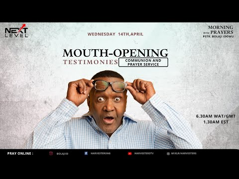 Mouth Opening Miracles!!!   Pst Bolaji Idowu  14th April 2021