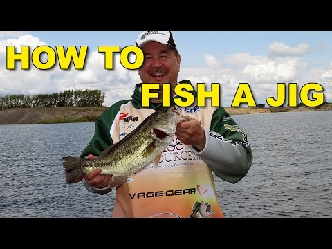 How To Fish A Jig for Bass - The Complete Jig Fishing Tutorial | Bass Fishing