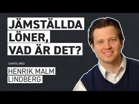 VAD ÄR EN JÄMSTÄLLD LÖN? –Samtal med Henrik Malm Lindberg