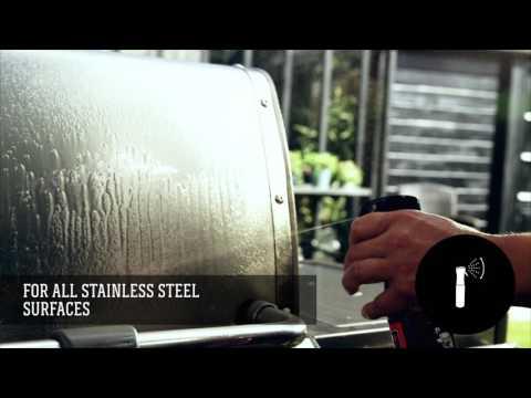 Weber® Grillrens - Rustfritt Stål