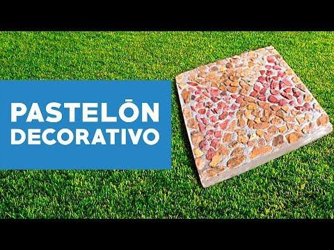 Youtube co mo hacer un pastelo n decorativo - Como hacer un piso de hormigon ...