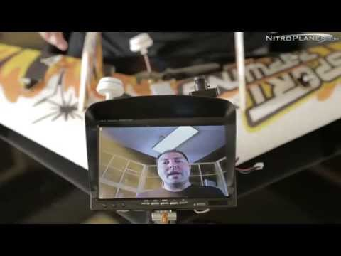 FPV System with Sony CCD Image Sensor Camera Setup - nitroplanes