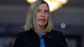 Live | EU foreign policy chief Federica Mogherini holds press conference following EU meeting