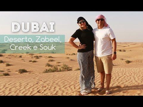 DUBAI: Deserto | Zabeel Palace | Creek | Souk