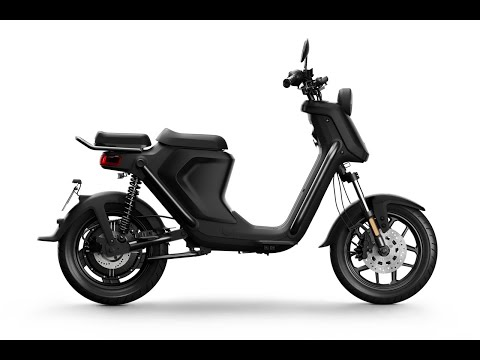 Niu UQi GT Pro 1200w 28mph Electric Moped Static Review : Green-mopeds.com