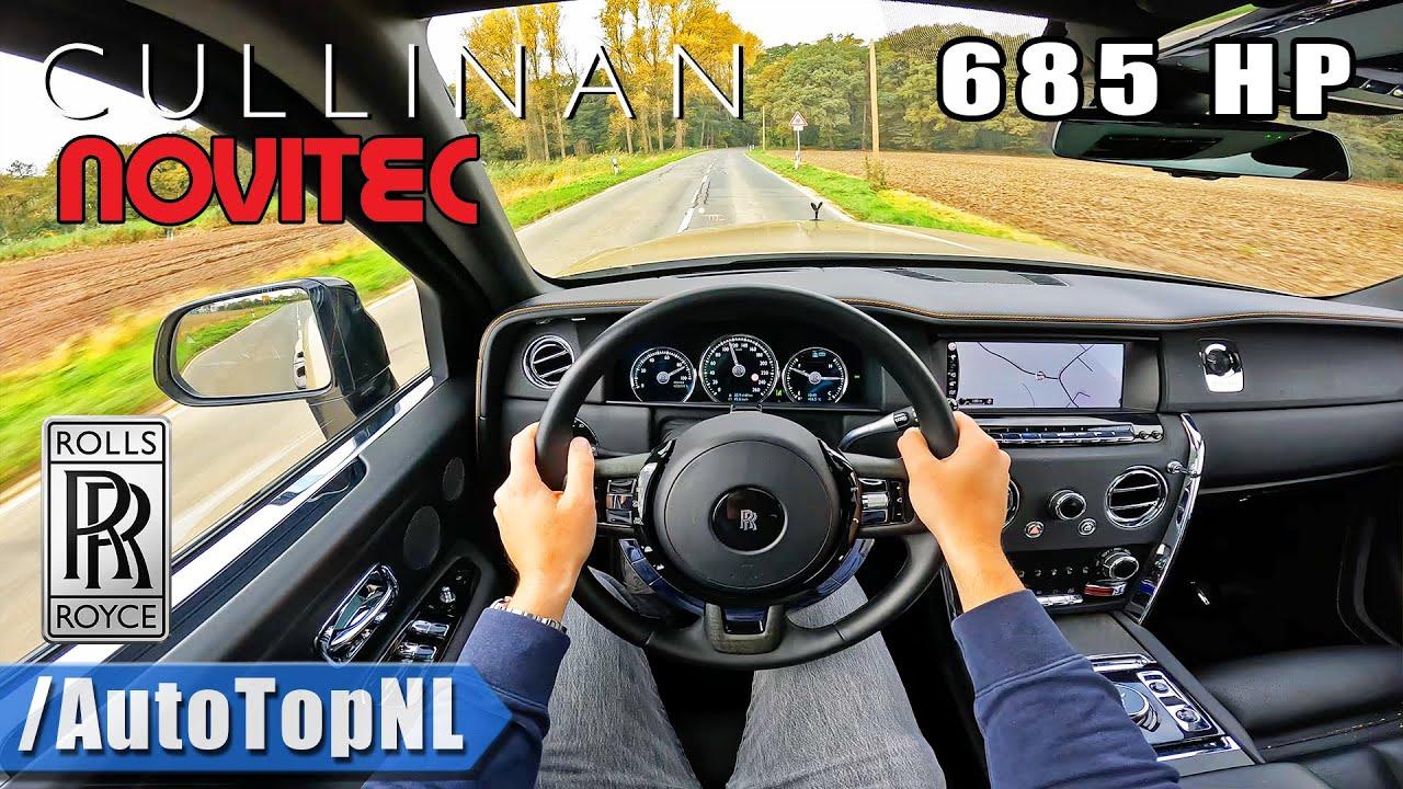 ROLLS ROYCE Cullinan NOVITEC 685HP | POV Test Drive by AutoTopNL