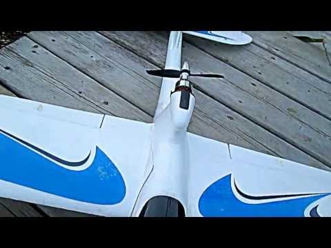 Beginners RC Plane AXN floater Jet / Basic aerobatics in Yard - UChlhsrzeLcCjgxIWS0KvspA