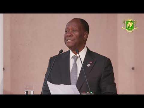 Discours du Président Alassane OUATTARA (Conférence économique du G20 - Afrique)