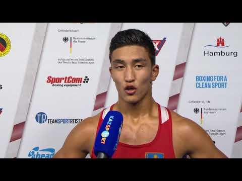 Интервью ЧМ-2017 Аманкул 75 кг