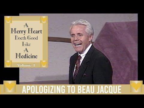 Merry Heart:  Apologizing to Beau Jacque  Jesse Duplantis
