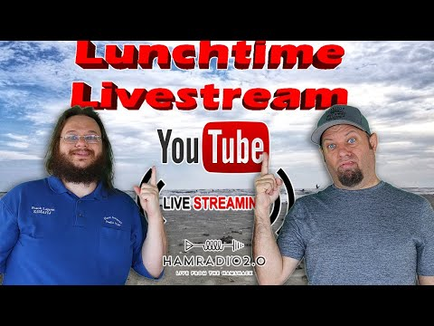 Lunchtime Livestream - Live from NEW YORK!  It's ... Wednesday?