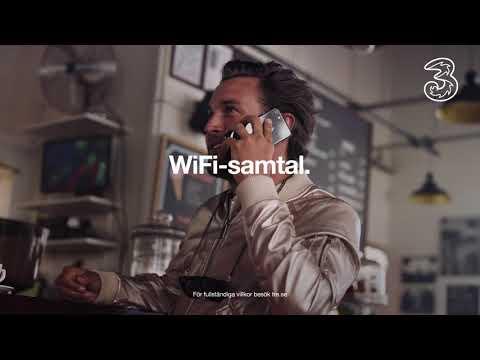 Ingår hos Tre: WiFi-samtal | Ha ett bra uppkopplat liv | Tre