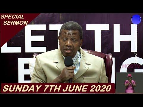 PASTOR E.A ADEBOYE SERMON - RCCG 07/06/2020 SPECIAL SERVICE