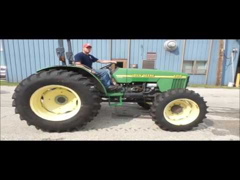 2000 John Deere 5410 MFWD tractor for sale | no-reserve Internet auction October 4, 2016