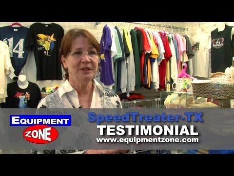 SpeedTreater-TX Automatic Pretreater at Sir Speedy of Hampton, VA