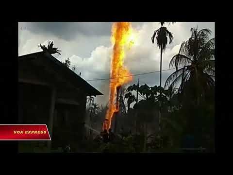 Indonesia: Nổ giếng dầu, ít nhất 15 người chết