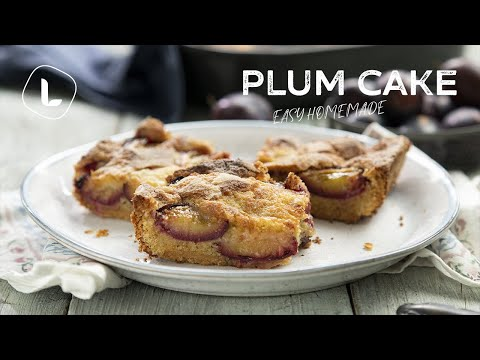 Easy Plum Cake | Food Channel L Recipes