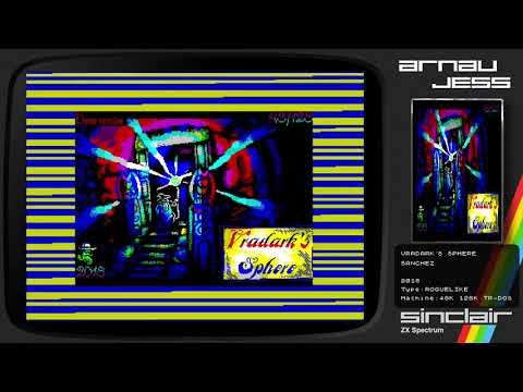 VRADARK´S SPHERE Zx Spectrum by SANCHEZ
