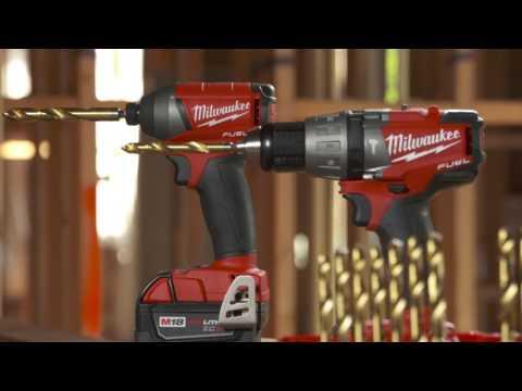 Brocas de Titanio Milwaukee®, resistentes a atornilladores de impacto Shockwave™ Red Helix™