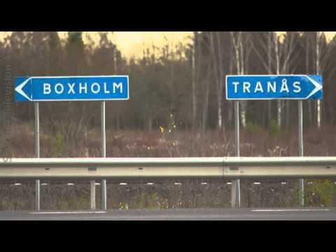 Mari Gustafssons resa från kassan till lokförarhytten.