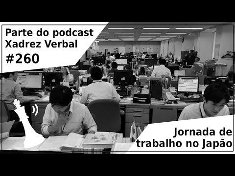 Redução da jornada de trabalho no Japão - Xadrez Verbal Podcast #260