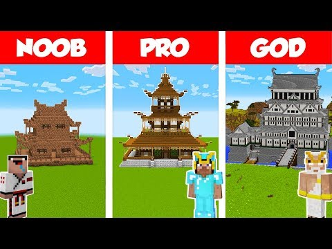 MINECRAFT: How to build big wooden house | Racer lt