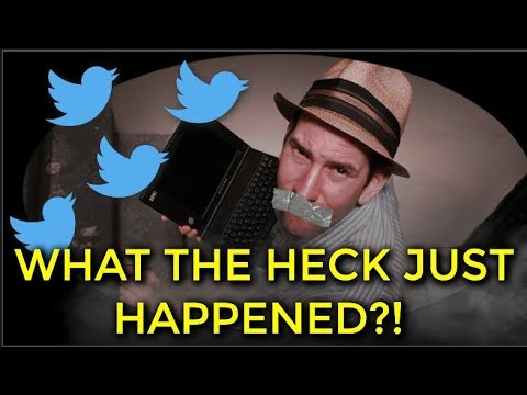 "What The Hell Happened To Matt Drudge?! I've Got Answers! As Twitter Signs Its ""Kill-Switch"" And..."