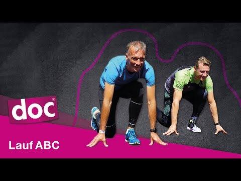 Lauf ABC: 6 Übungen für ein perfektes Training | doc Alltagsexperten