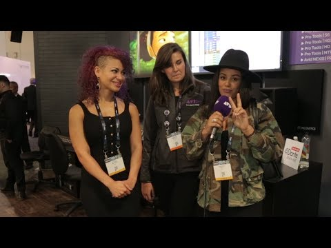 LIVE FROM #AVID AT #NABSHOW 2018   Girls Make Beats