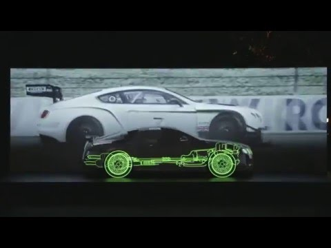 Bentley Pebble Beach Projection Mapping