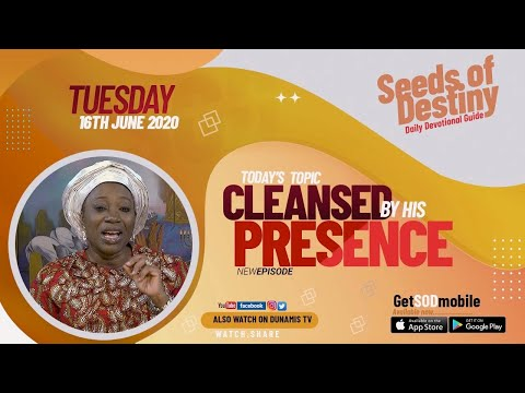 Dr Becky Paul-Enenche - SEEDS OF DESTINY  TUESDAY JUNE 16, 2020