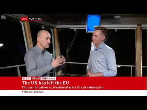 BBC News Special on Brexit Night on Stena Hollandica