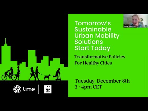 Tomorrow's Sustainable Urban Mobility Solutions Start Today