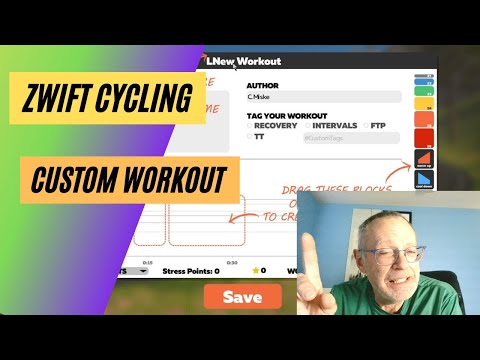 How-to: Custom Cycling Workout in Zwift?