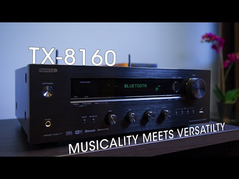 ONKYO - TX-8160 Network Stereo Receiver